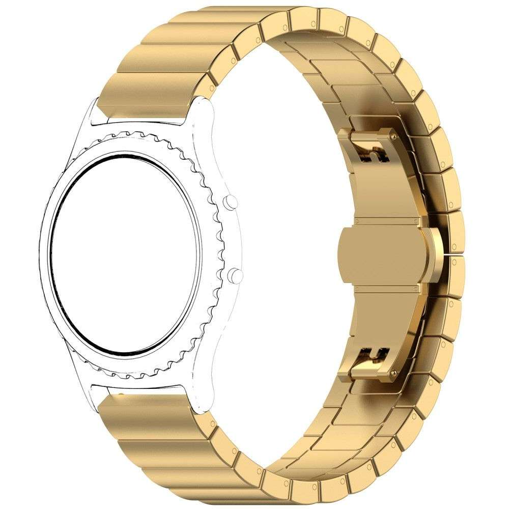 Just in Case Metalen Chain armband Samsung Galaxy Watch 46mm - Goud