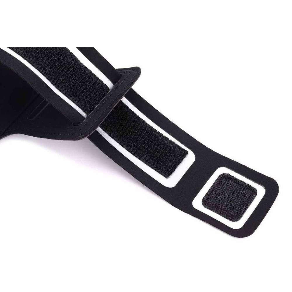 Samsung Galaxy Xcover 3 Universele Sportarmband - zwart