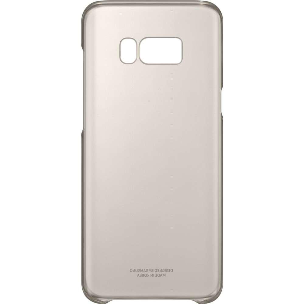 Samsung Galaxy S8 Plus Clear Cover Goud
