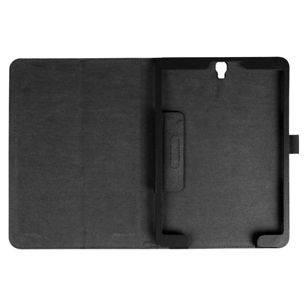 Samsung Galaxy Tab S3 9.7 Leather Protective Case - zwart