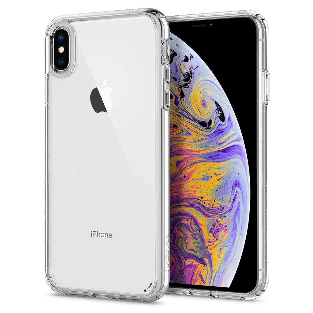 Apple iPhone Xs Max Hoesje Spigen Ultra Hybrid Transparant