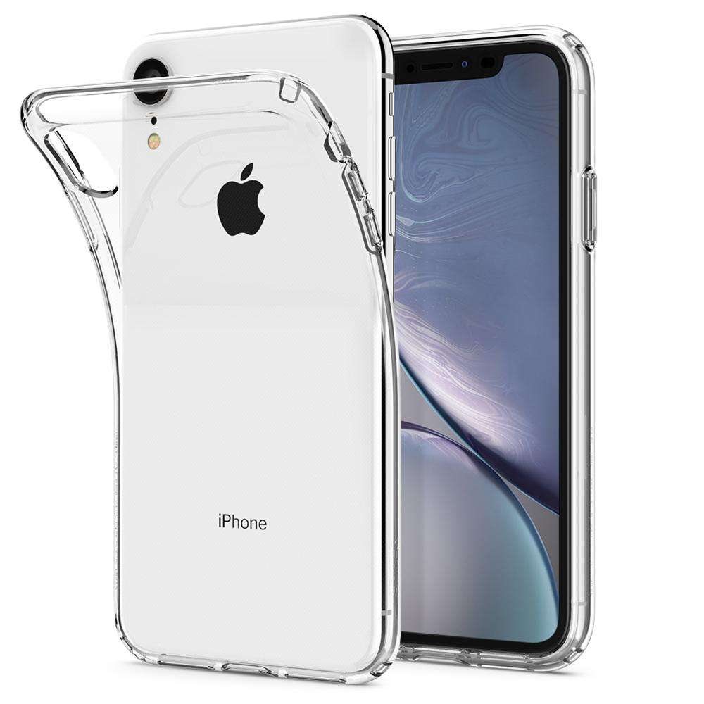 Apple iPhone Xr Hoesje Spigen Liquid Crystal Transparant