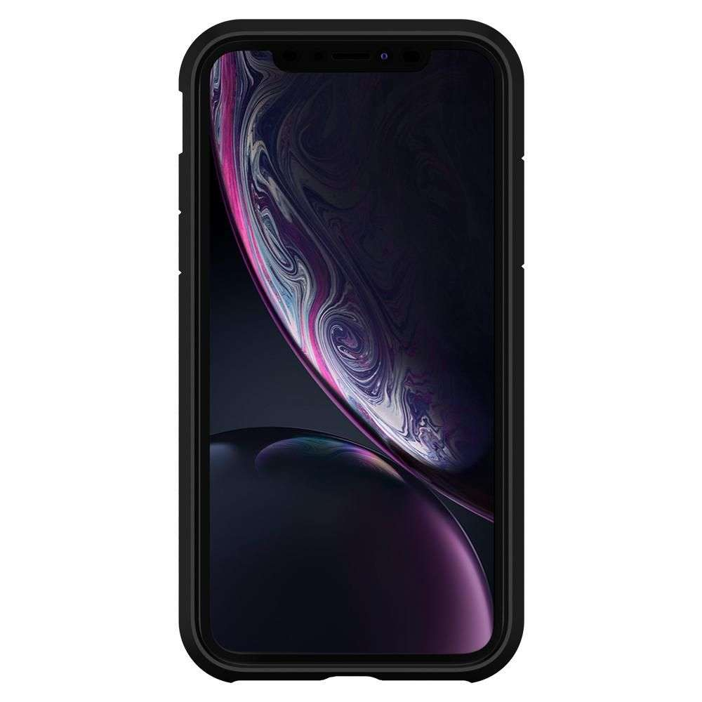 Apple iPhone Xr Hoesje Spigen Tough Armor Zwart