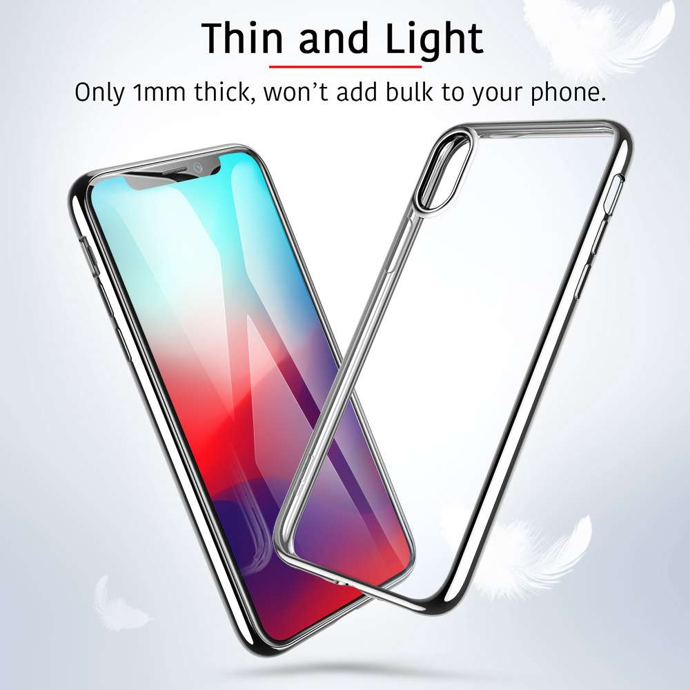 ESR Apple iPhone Xs Max Case Essential Silver