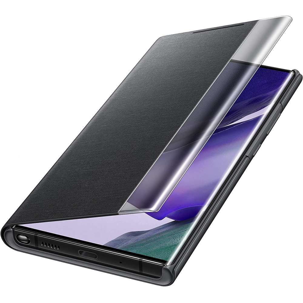 Samsung Galaxy Note 20 Ultra Clear View Cover Zwart
