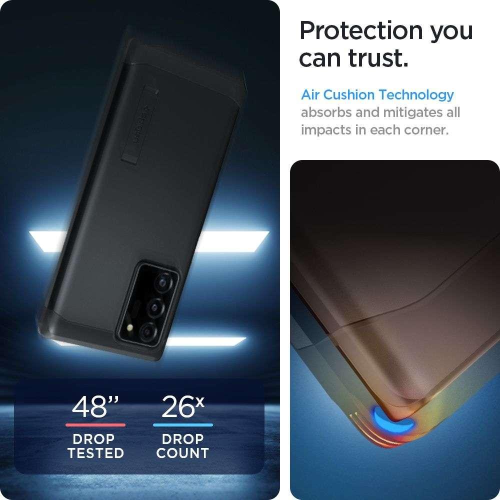 Samsung Galaxy Note 20 Ultra Hoesje Spigen Tough Armor Zwart