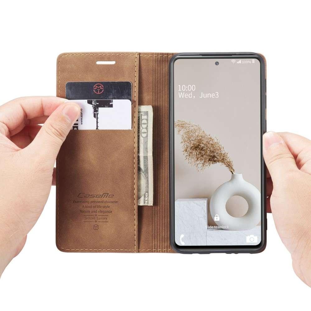 CASEME Samsung Galaxy S20 FE Retro Wallet Case - Bruin