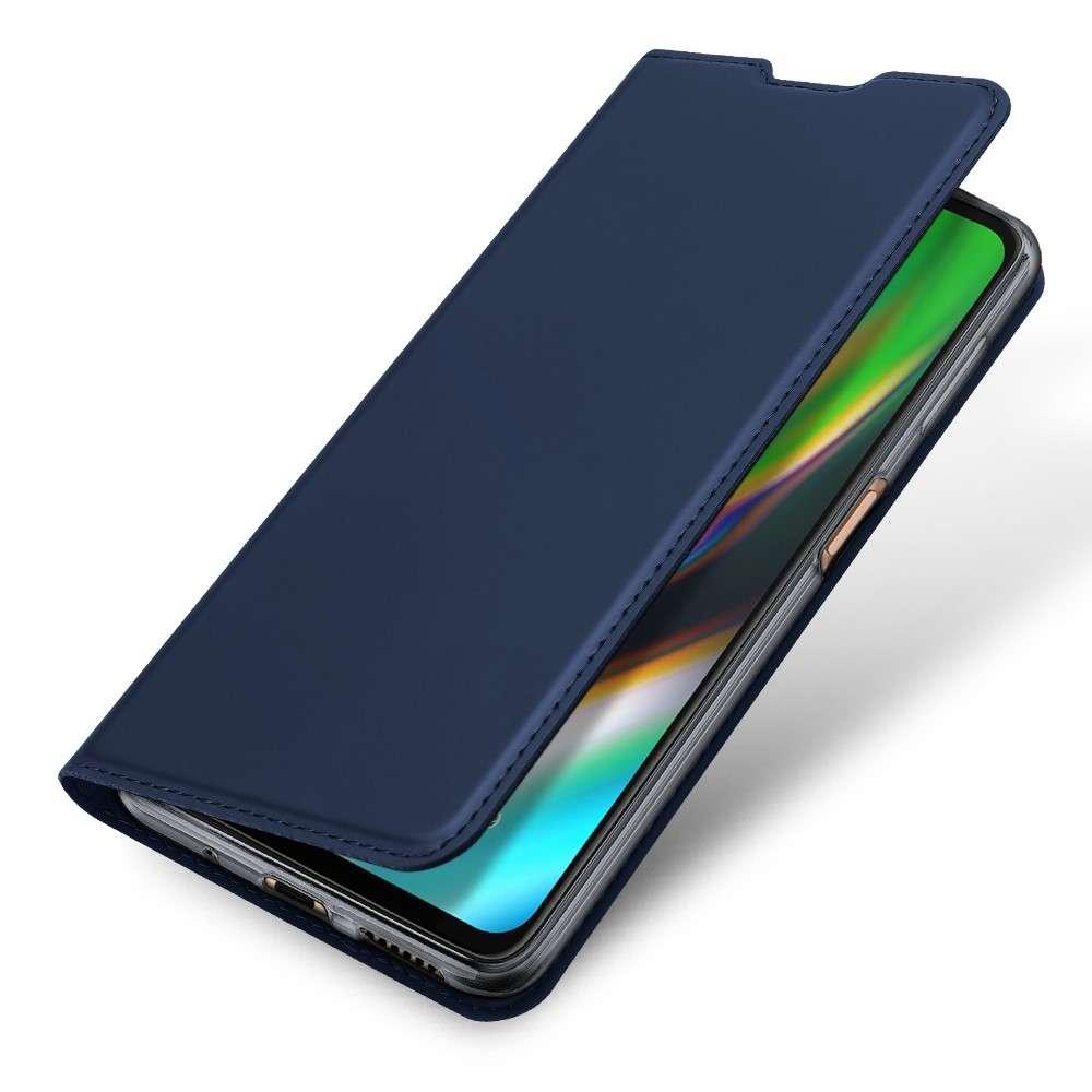 DUX DUCIS Motorola Moto G9 Plus TPU Wallet Case - Blauw