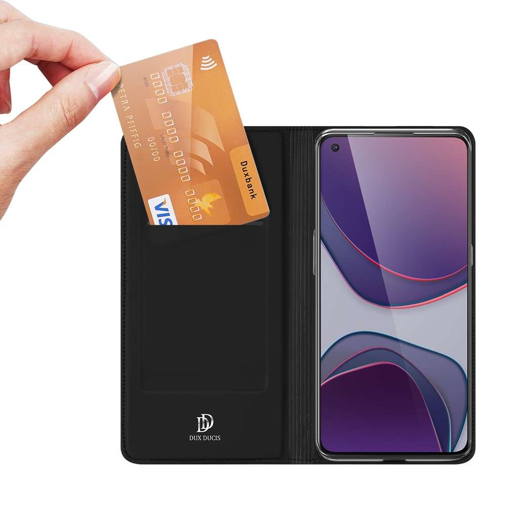 DUX DUCIS OnePlus 8T TPU Wallet Case - Zwart