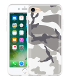 iPhone 7 Hoesje Army Camouflage Grey