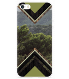 iPhone 5/5S/SE Hoesje Forest wood