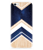 iPhone 6/6S Hoesje Space wood