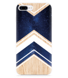 iPhone 7 Plus Hoesje Space wood