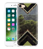 iPhone 7 Hoesje Forest wood