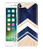 iPhone 7 Hoesje Space wood