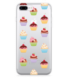 iPhone 7 Plus Hoesje Cupcakes