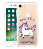 iPhone 7 Hoesje Born to be a Unicorn