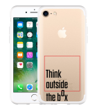 iPhone 7 Hoesje Think outside the Box