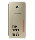 Galaxy A5 (2017) Hoesje Think outside the Box