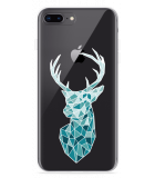 iPhone 8 Plus Hoesje Art Deco Deer