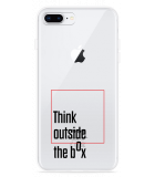 iPhone 8 Plus Hoesje Think outside the Box