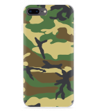 iPhone 8 Plus Hoesje Army Camouflage Green