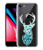 iPhone 8 Hoesje Art Deco Deer