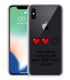 Apple iPhone X Hoesje Gamers Life