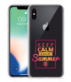 Apple iPhone X Hoesje Summer Time