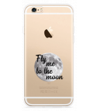 iPhone 6/6S Hoesje Fly me to the Moon