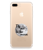 iPhone 7 Plus Hoesje Fly me to the Moon