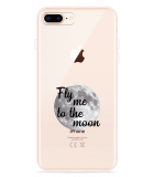 iPhone 8 Plus Hoesje Fly me to the Moon