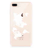 iPhone 8 Plus Hoesje World Map