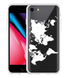 iPhone 8 Hoesje World Map