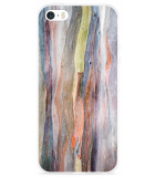 iPhone 5/5S/SE Hoesje Wood Art II