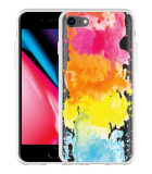 iPhone 8 Hoesje Color Splatters