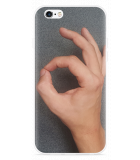 iPhone 6/6S Hoesje Circle Hand Game