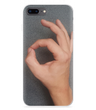 iPhone 8 Plus Hoesje Circle Hand Game