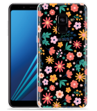 Samsung Galaxy A8 2018 Hoesje Always have flowers