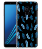 Samsung Galaxy A8 2018 Hoesje Feathers