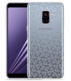 Samsung Galaxy A8 2018 Hoesje Triangles