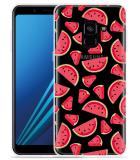 Samsung Galaxy A8 2018 Hoesje Watermeloen