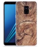 Samsung Galaxy A8 2018 Hoesje Boom doorsnede