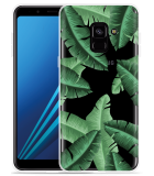 Samsung Galaxy A8 2018 Hoesje Palm Leaves