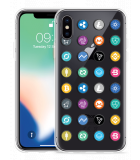 Apple iPhone X Hoesje Cryptocurrency