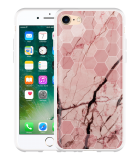 iPhone 7 Hoesje Pink Marble