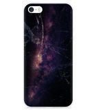 iPhone 5/5S/SE Hoesje Black Space Marble