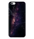 iPhone 6/6S Hoesje Black Space Marble