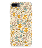 iPhone 8 Plus Hoesje Doodle Flower Pattern
