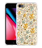 iPhone 8 Hoesje Doodle Flower Pattern